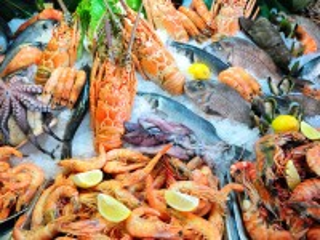 Собирать пазл Seafood онлайн
