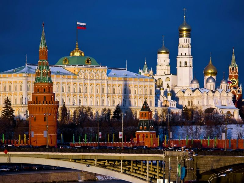 Jigsaw Puzzle Solve jigsaw puzzles online - Moscow Kremlin