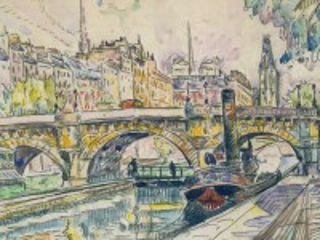 Собирать пазл Pont Neuf bridge онлайн
