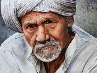 Собирать пазл The man in the turban онлайн