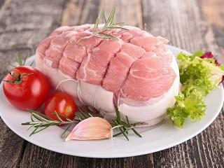 Собирать пазл Meat and vegetables онлайн
