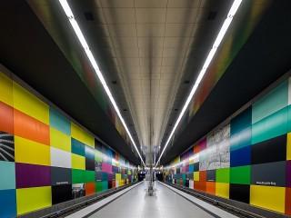 Собирать пазл The Munich metro онлайн