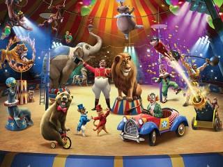 Собирать пазл At the circus онлайн