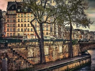 Собирать пазл The Banks Of The Seine онлайн