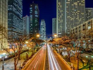 Собирать пазл Tokyo At Night онлайн