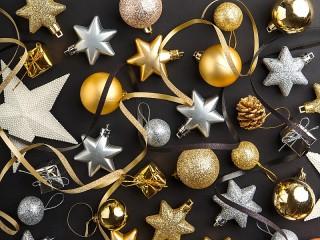 Собирать пазл Christmas toys онлайн