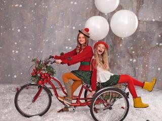 Собирать пазл Novogodniy velosiped онлайн