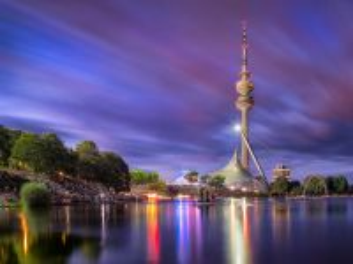 Собирать пазл Olympian park in Munich онлайн