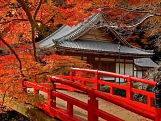 Собирать пазл Autumn Japan онлайн