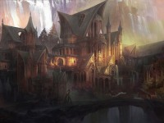 Собирать пазл The mansion at waterfalls онлайн