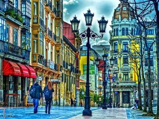 Собирать пазл Oviedo Spain онлайн