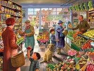 Собирать пазл Greengrocery онлайн
