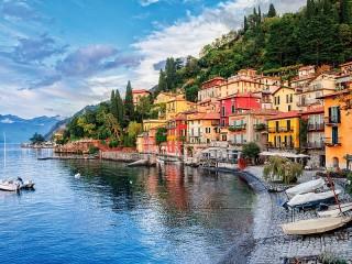 Собирать пазл Lake Como. Italy онлайн