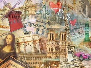 Собирать пазл Paris онлайн