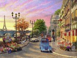 Собирать пазл Paris street онлайн