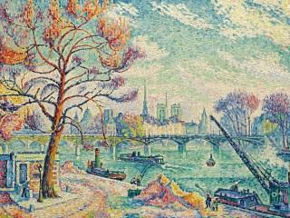 Собирать пазл Paris bridge онлайн