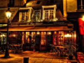 Собирать пазл Paris cafe онлайн