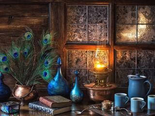Собирать пазл Perya i lampa онлайн