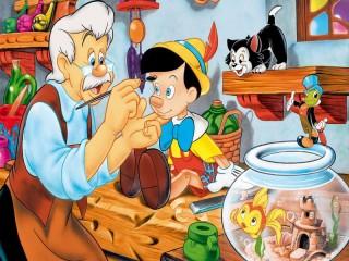 Собирать пазл Pinocchio онлайн