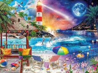 Собирать пазл beach онлайн