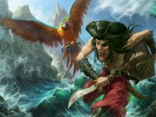 Собирать пазл Nasty pirate онлайн
