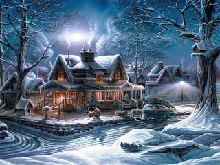 Собирать пазл Christmas онлайн