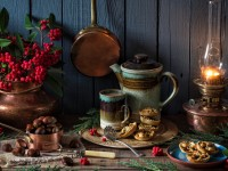 Собирать пазл Rowan and the chestnuts онлайн