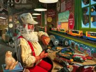 Собирать пазл Santa Claus 7 онлайн