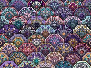 Собирать пазл Hexagons онлайн