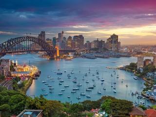 Собирать пазл Sydney онлайн