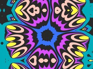 Собирать пазл Blue and purple онлайн