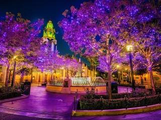 Собирать пазл Lilac night онлайн
