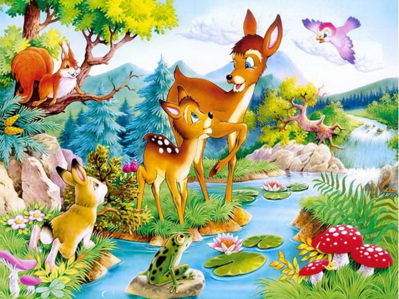 Jigsaw Puzzle Solve jigsaw puzzles online - Fairy glade