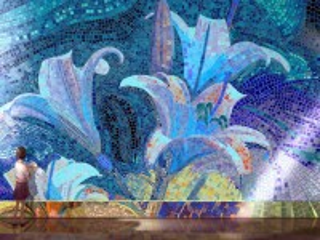 Собирать пазл Folding mosaic онлайн