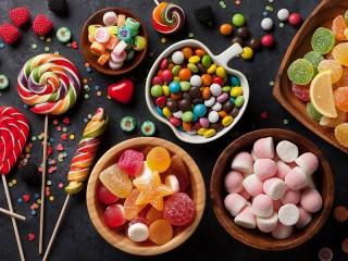Собирать пазл Sweets онлайн