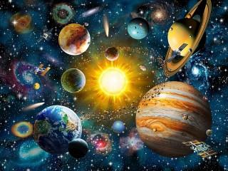Собирать пазл Solar System онлайн