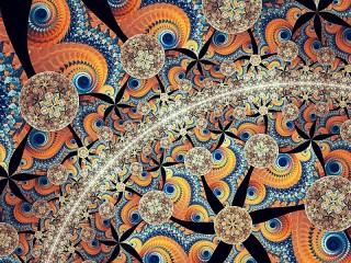 Собирать пазл Spiral and arc онлайн
