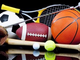 Собирать пазл Sports equipment онлайн