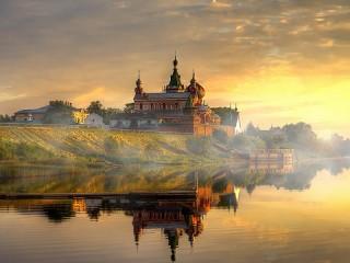 Собирать пазл Staraya Ladoga онлайн