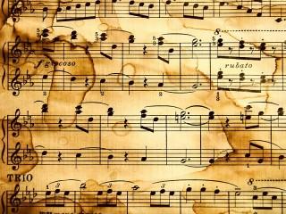 Собирать пазл Old music-sheet онлайн