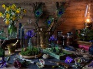 Собирать пазл Stol florista онлайн