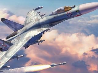Собирать пазл su-27 онлайн