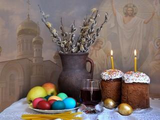 Собирать пазл Christmassy Easter онлайн