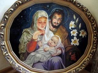 Собирать пазл Holy Family онлайн