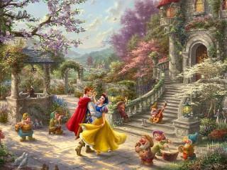 Собирать пазл The Dance Of Snow White онлайн