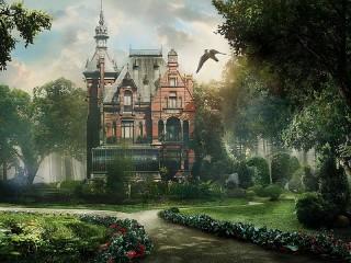 Собирать пазл Torenhof Castle онлайн