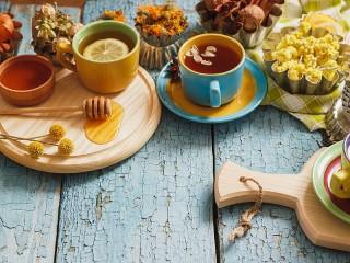 Собирать пазл Herbal tea онлайн