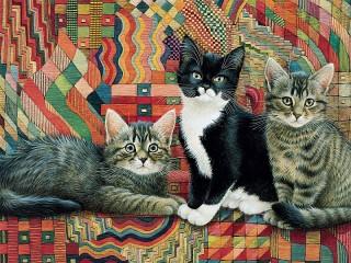 Собирать пазл Kittens онлайн
