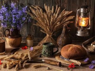 Собирать пазл Chicory and rye онлайн