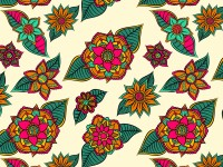 Собирать пазл Flowers on leaves онлайн